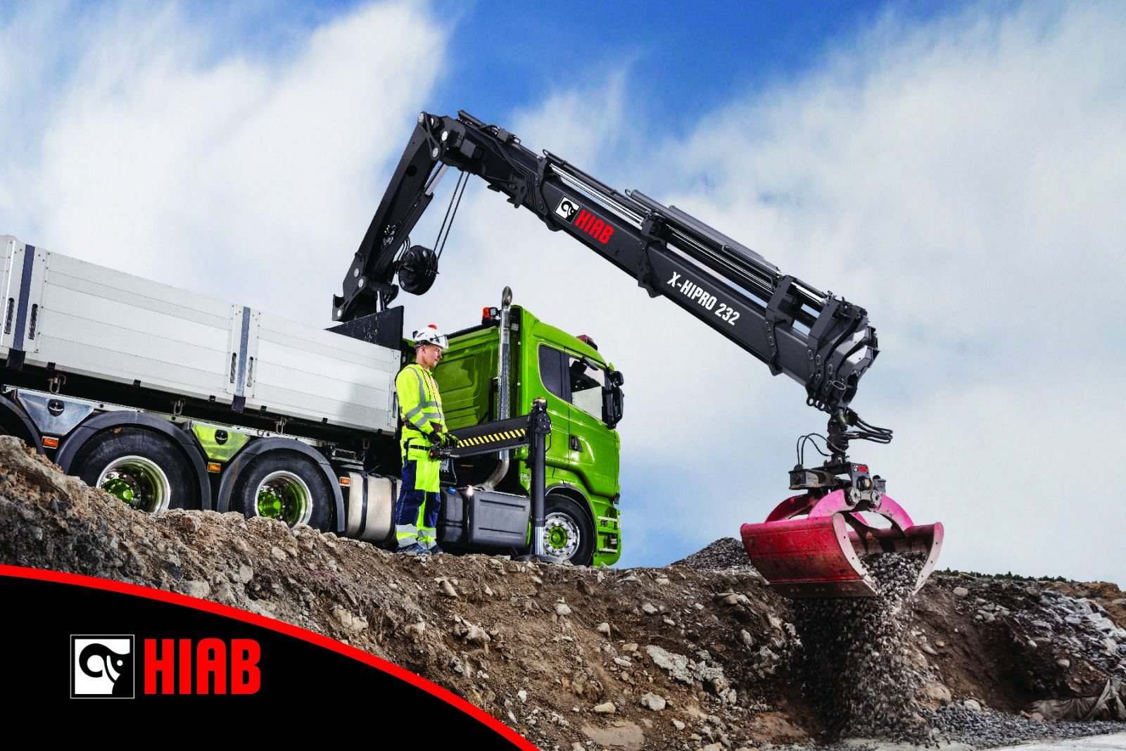 Hiab Introduces The Hiab X Hipro 232 At 2017 Icuee