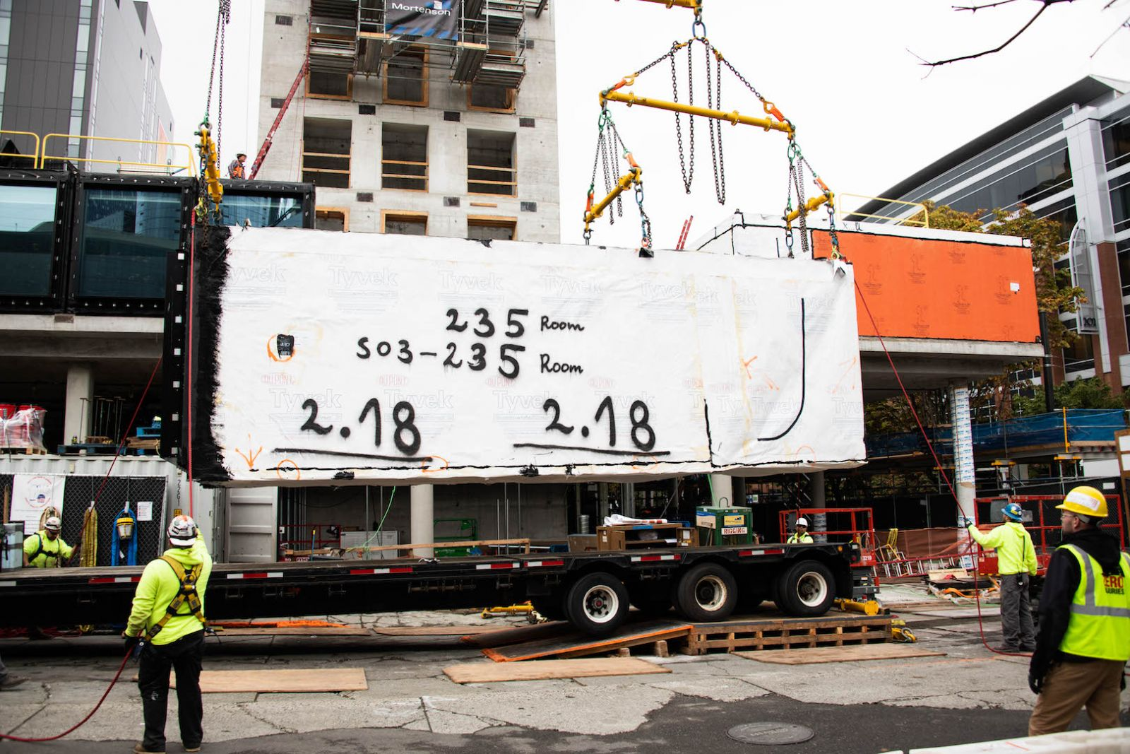 Modulift Beams Help Construct Modular Hotel In Seattle