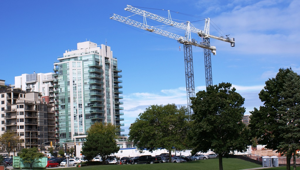 Terex Cranes Close to Completing Three-Year Mixed-Use