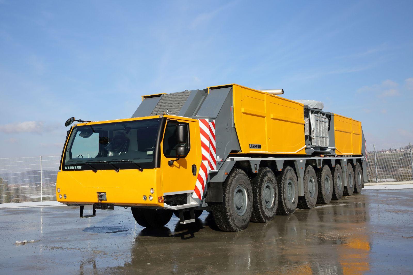 Trand Purchases First U S  Liebherr LG 1750 Crane