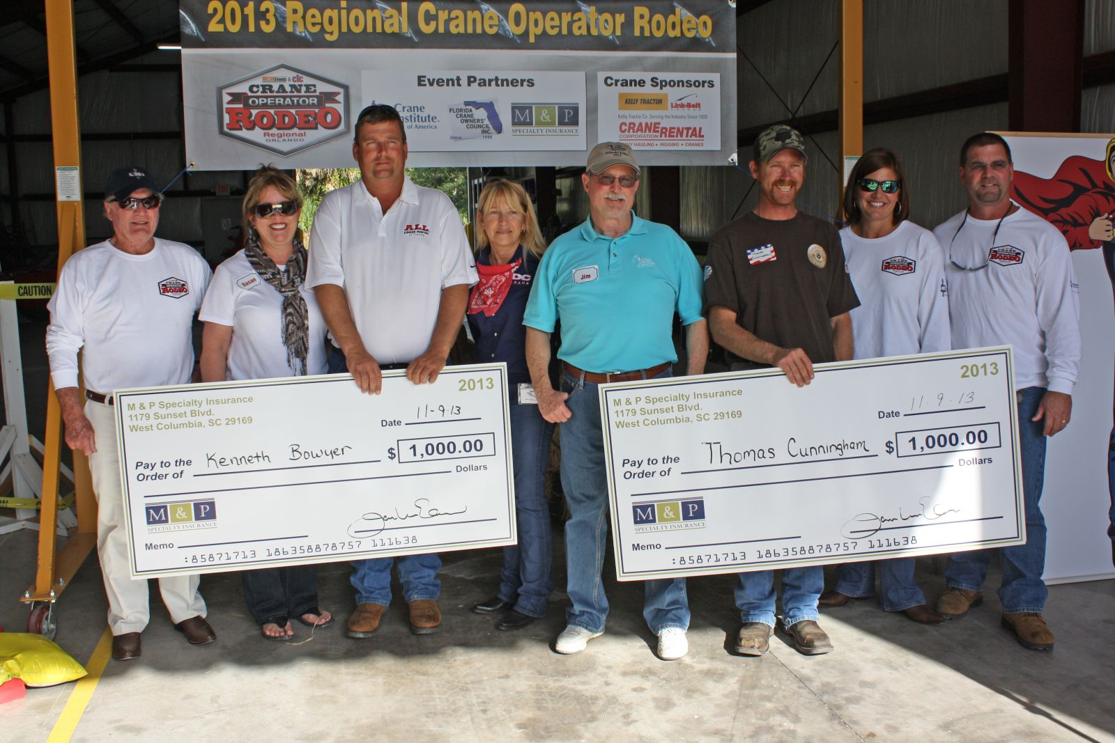 Central Florida Crane Operators Go Head-to-Head at Regional Skills Competition