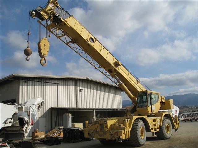 Crane Hotline: Item #114908: Rough Terrain Crane :: GROVE