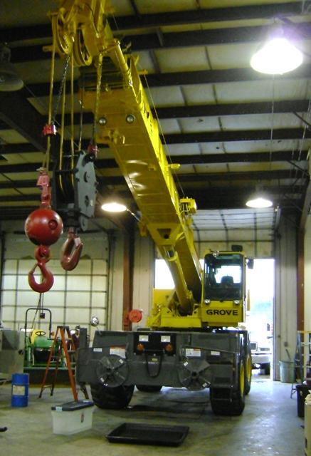 Crane Hotline: Item #200696: Rough Terrain Crane :: GROVE
